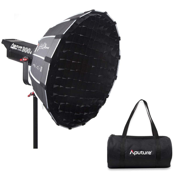 Aputure Light Dome Mini II Softbox Diffuser, The Ultimate Compact Diffusion