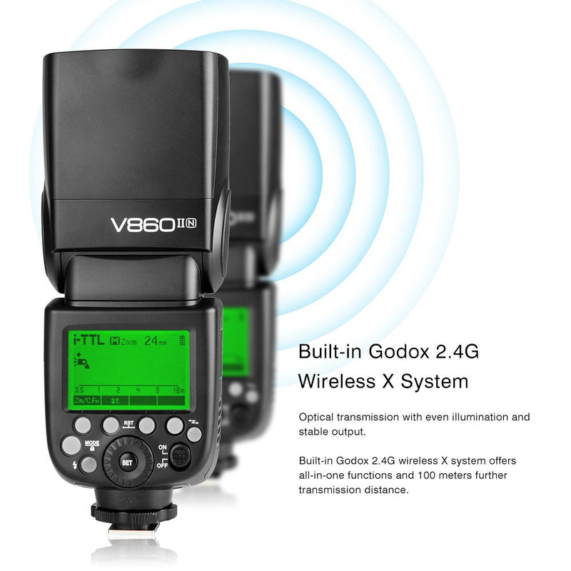 Godox Ving V860II for Nikon, Sony, Canon and Fuji