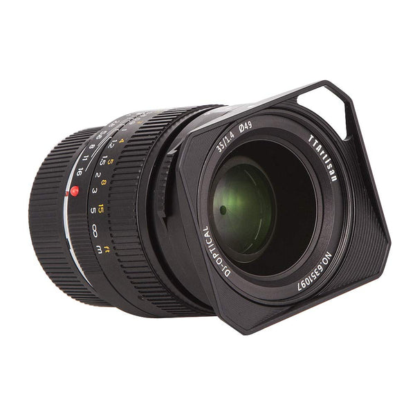 TTArtisan 35mm F1.4 Full Frame Fixed Focus Large Aperture Prime Aluminum Lens