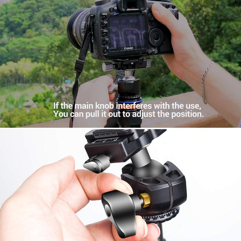 PERGEAR TH4 Ball Head TH3 Tripod Ballhead Upgraded Version