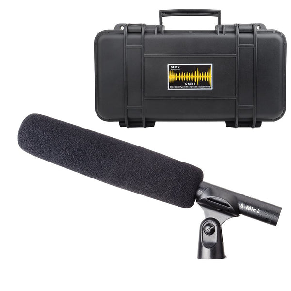 Deity S-Mic 2 Condenser Shotgun Microphone, Ultra Low Off-Axis Coloration