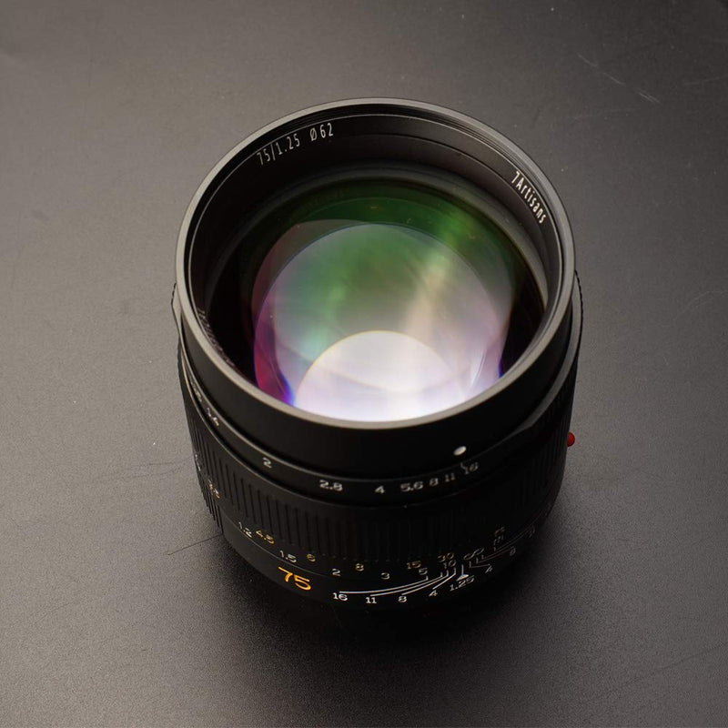 7artisans 75mm F1.25 Lens Full Frame Manual Fixed
