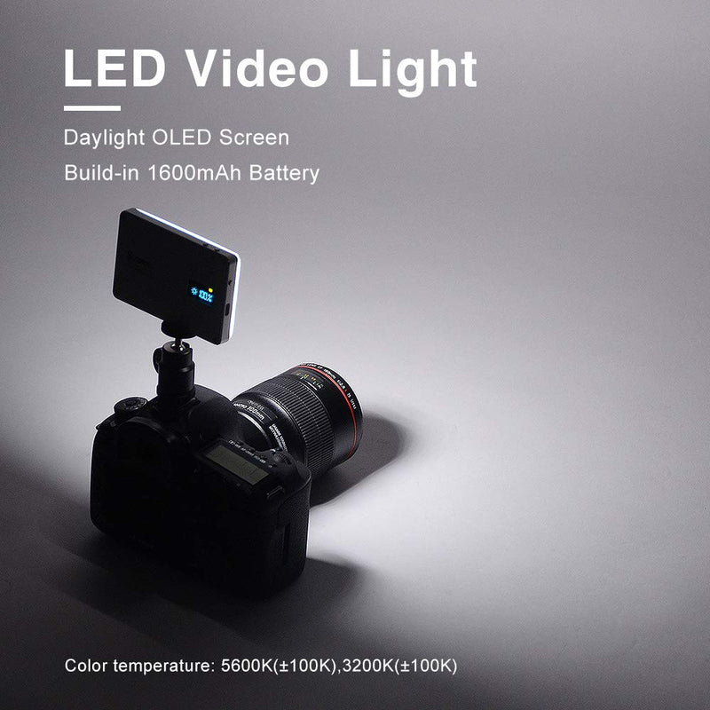 SOKANI X21 Pocket-Sized On Camera LED Video Light