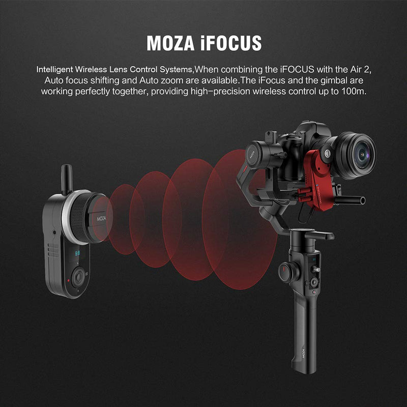 MOZA Air 2 with iFocus-M Follow Focus Motor