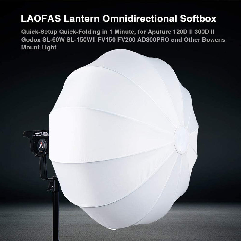 LAOFAS Lantern Softbox Bowens Mount