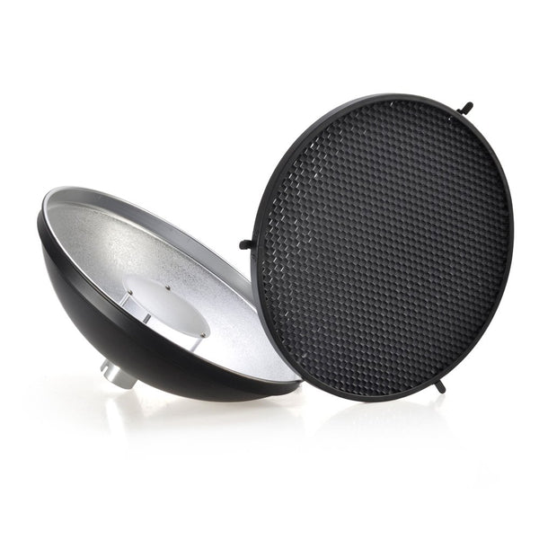 Godox AD-S3 Beauty Dish Reflector with Honeycomb Cover for Godox AD200PRO AD200 AD180 AD360 AD360II Flash Speedlite