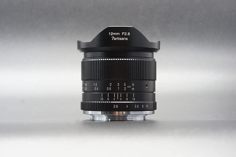 7artisans 12mm F2.8 Ultra Wide Angle Lens for Fuji/Canon