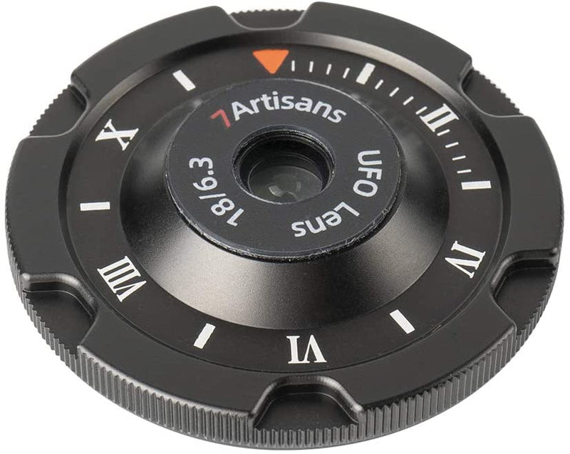 7artisans 18mm F6.3 Ultra-thin Cap Lens, the UFO Lens for Panasonic & Olympus M4/3, Sony E-mount, Fuji X-mount
