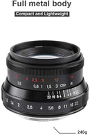 7artisans 35mm F1.2 V2.0 Manual Focus Fixed Lens for Sony E-Mount Cameras