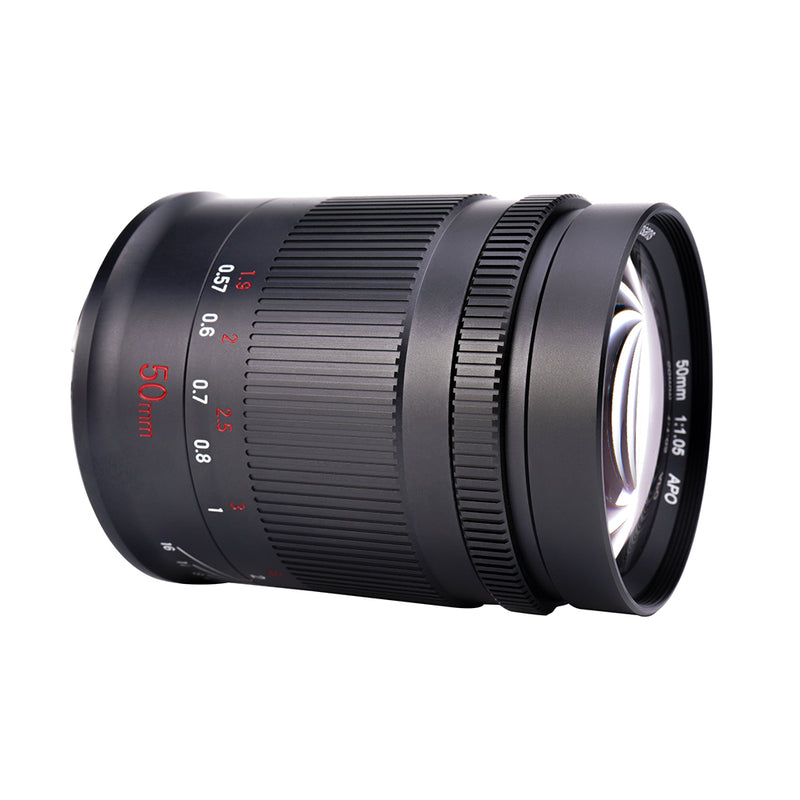 7artisans 50mm F1.05 Manual Focus Fixed Focus Full-Frame Telephoto Lens
