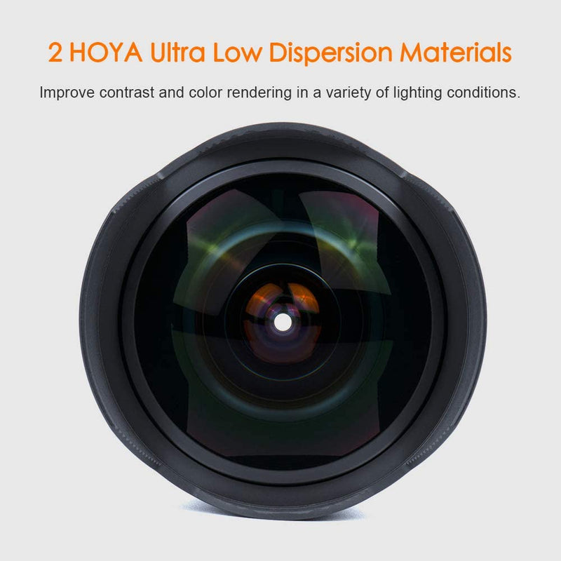 7artisans 7.5mm F2.8 II V2.0 Fisheye Lens for MFT Cameras