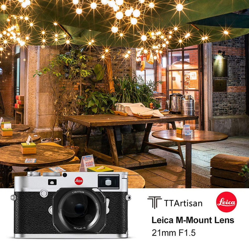 TTArtisan 21mm F1.5 Wide-Angle Manual Fixed Lens