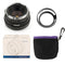 Pergear 35mm F1.6 Manual Focus Prime Fixed Lens for Sony E-Mount, M4/3 Mount, Fuji X-Mount Mirrorless Camera