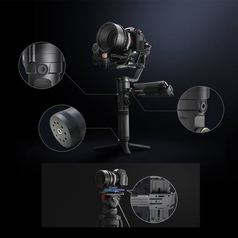 Zhiyun Crane 2S Follow Focus 3-Axis Handheld Gimbal