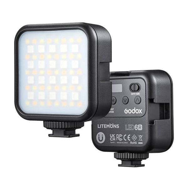 Godox LITEMONS LED 6Bi RGB Rechargeable LED Video Light