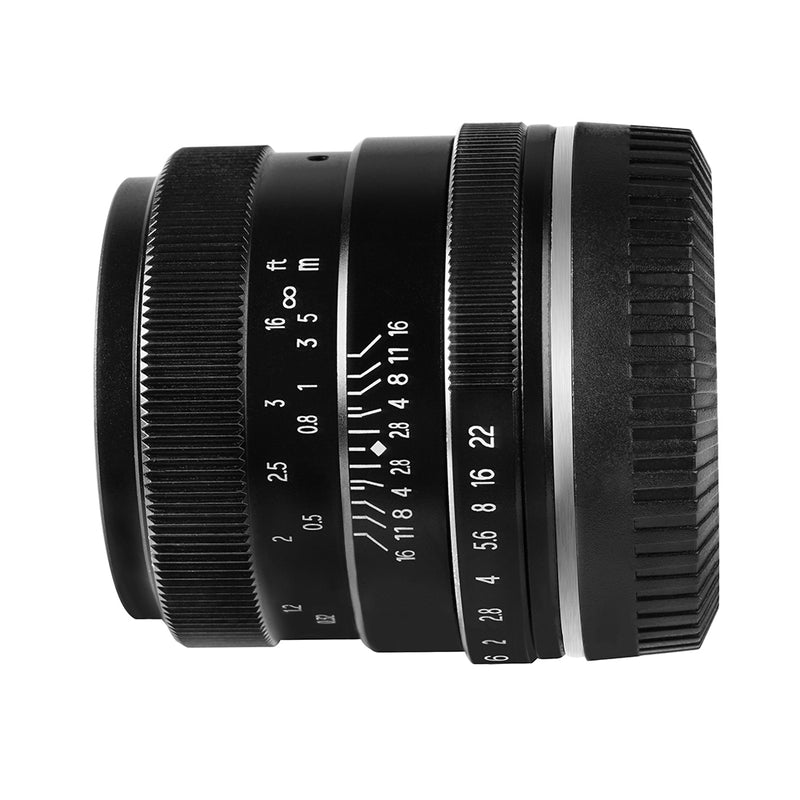 PERGEAR 35mm F1.2 Large Aperture Manual Focus Fixed Lens