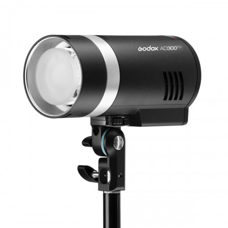 Godox AD300Pro 300W 2.4G TTL Flash Strobe Monolight, 1/8000 HSS, 0.01-1.8S Recycle Time, 300 Full Power Pops, 5600±100K Stable Color Mode, 12W Brightness Adjustable Bi-Color Modeling Led