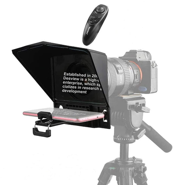 Desview T2 Portable Teleprompter Kit, Supports wide angle lens