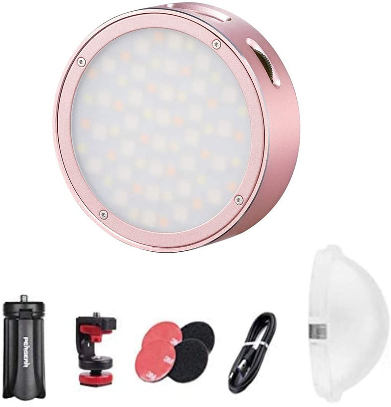 Godox R1 Round Full Color RGB Led Video Light with accessaries