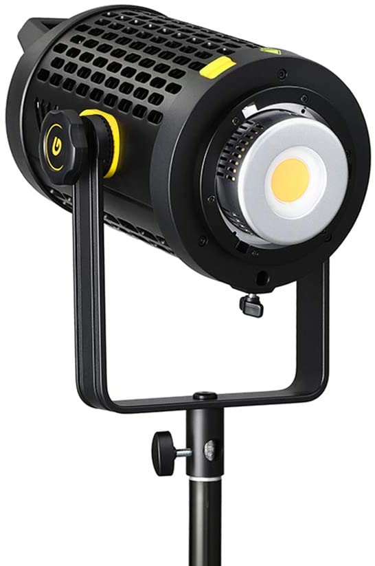 Godox UL150 LED Video Light, 150W 5600K Daylight Balanced Silent Led Video Light, with New Heat-Dissipation System