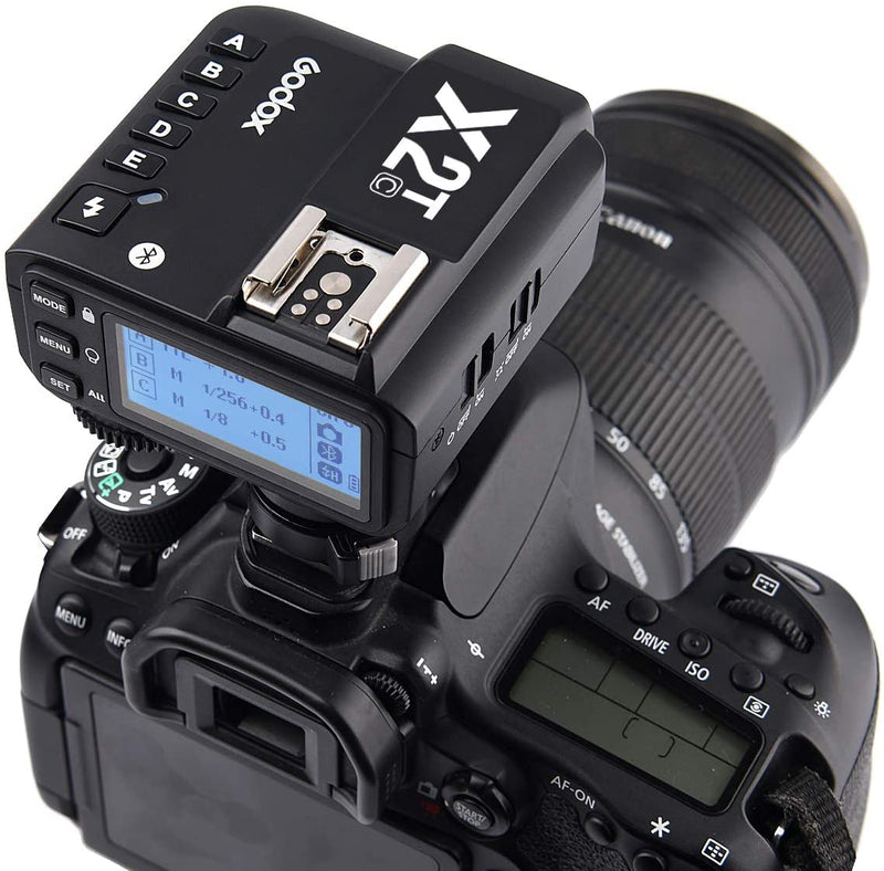 Godox X2T-C TTL Wireless Flash Trigger Autoflash and Pro Functions