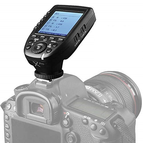 Godox Xpro TTL Wireless Flash Trigger Transmitter for Nikon, Sony, Canon and Fuji