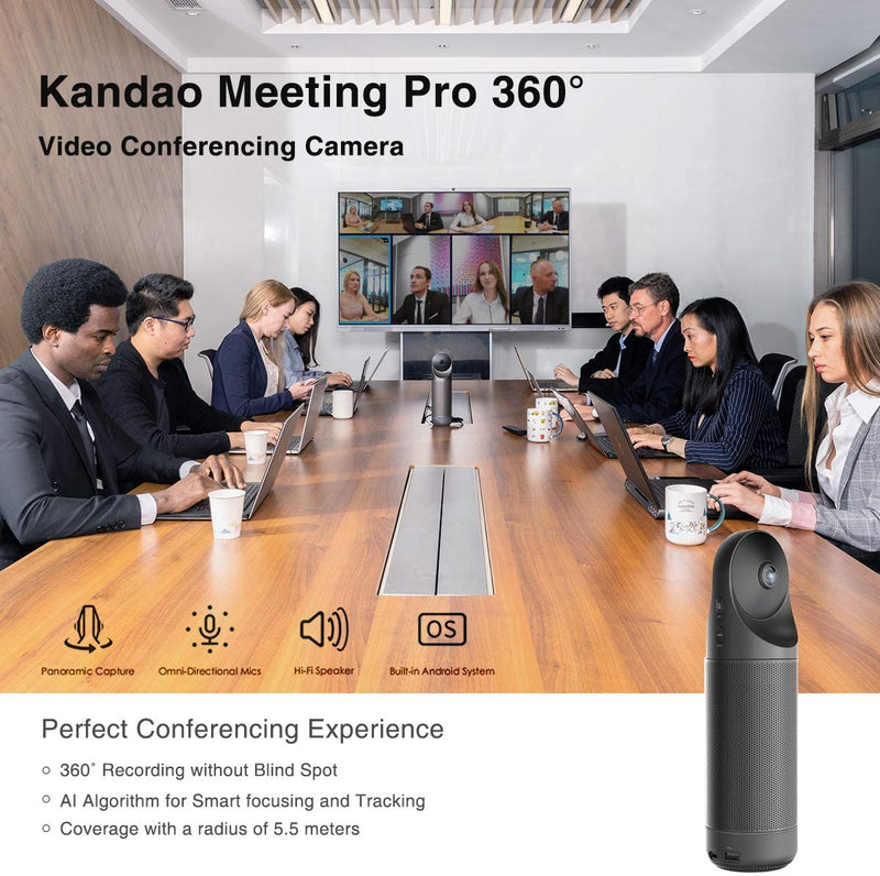 KanDao Meeting Pro 360 Video Conference Camera -- Especially Offer for Canada Customers