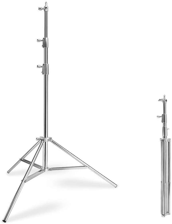 LAOFAS Stainless Steel Light Stand 9.18ft