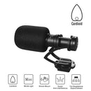 comica CVM-VM10II Mini Shotgun Video Microphone, Full Metal Aluminum Cardioid Directional Condenser with Wind Muff for DSLR Camera Camcorder Smartphones and Gopro