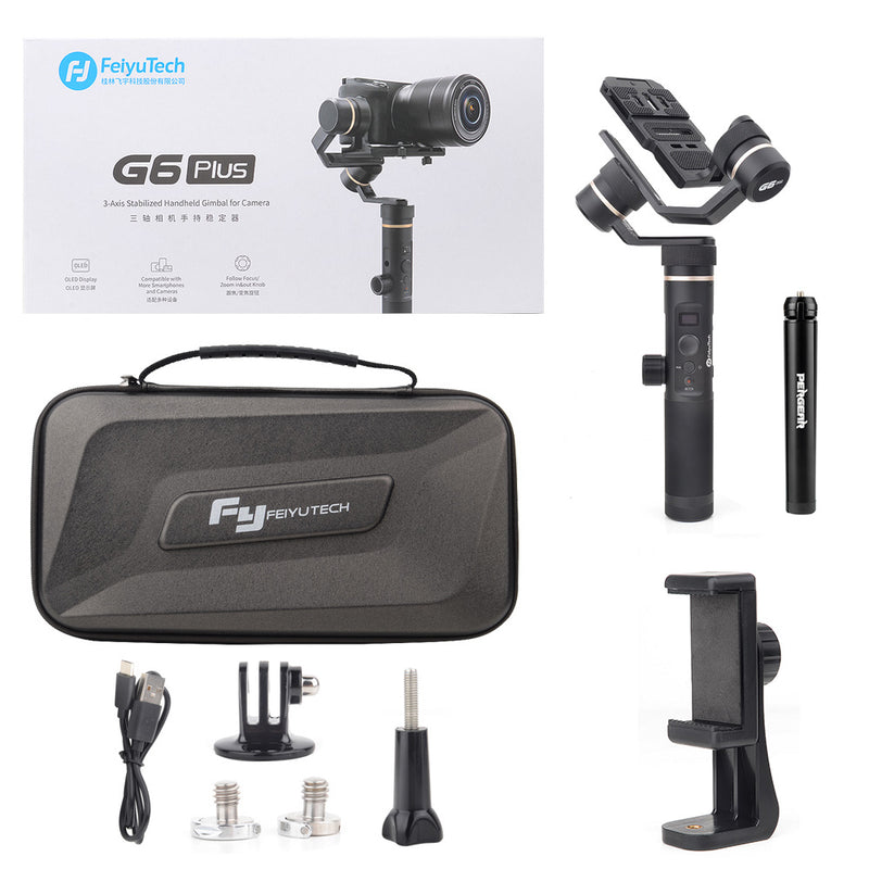 Feiyu G6 Plus 3-Axis Handheld Splashproof Gimbal