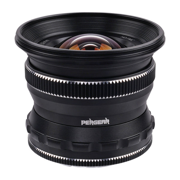 PERGEAR 12mm F2 Wide-angle Manual Focus Lens For Sony, Fuji, Nikon, M4/3 Cameras