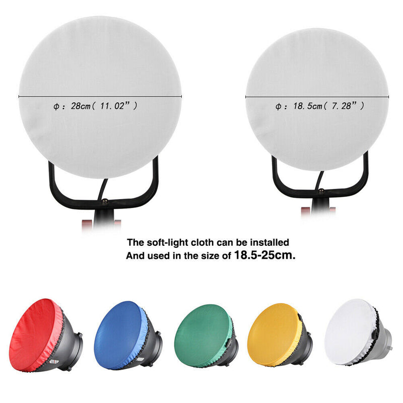 Pergear Diffusers Color Filters for Godox SL60W SL150W SL200W VL150 VL200 VL300