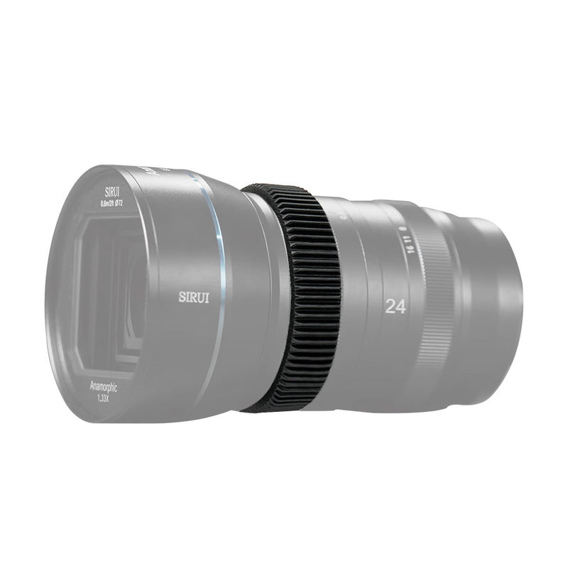 Pergear TPU follow focus ring, specially designed for SIRUI 24mm F2.8 1.33x Anamorphic lens