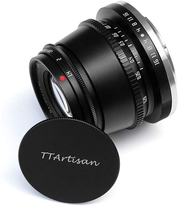 TTArtisan 35mm F1.4 Manual Focus APS-C Format Fixed Lens for M4/3 Mount Cameras EPM1 EPL1 EPL2 E-P1 E-P2 E-M1 G1 G2 G3 GF1 GF2 GX1 GX7 GH1 etc.