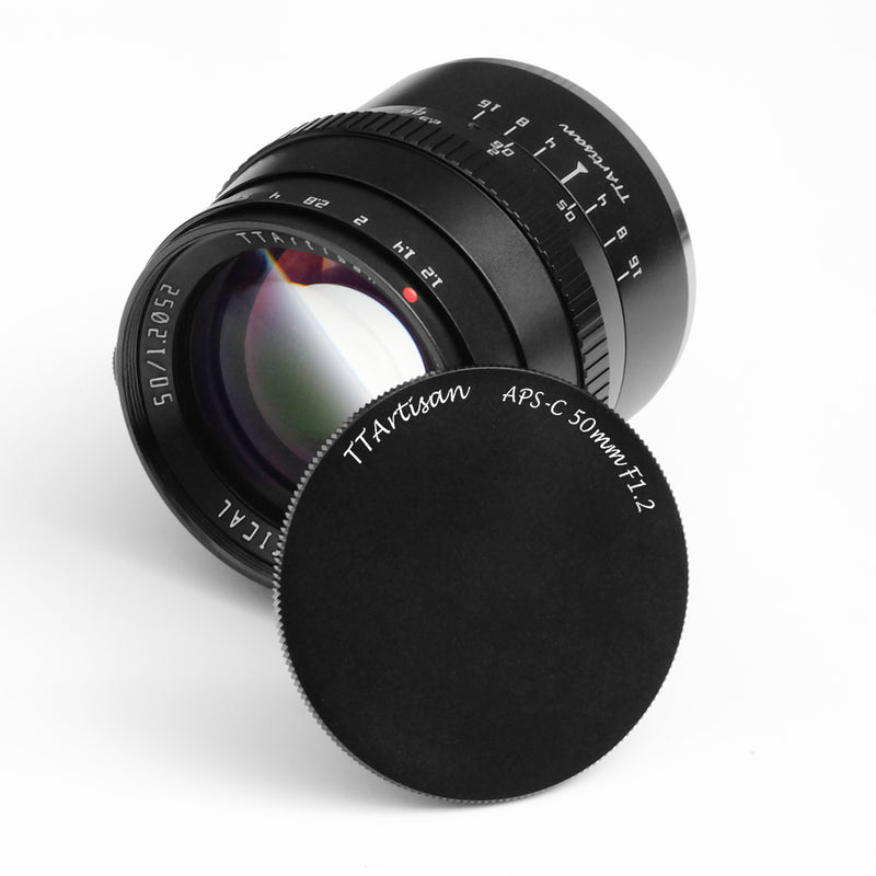 TTartisan 50mm F1.2 Lens for Fuji X-Mount -Pre-Order