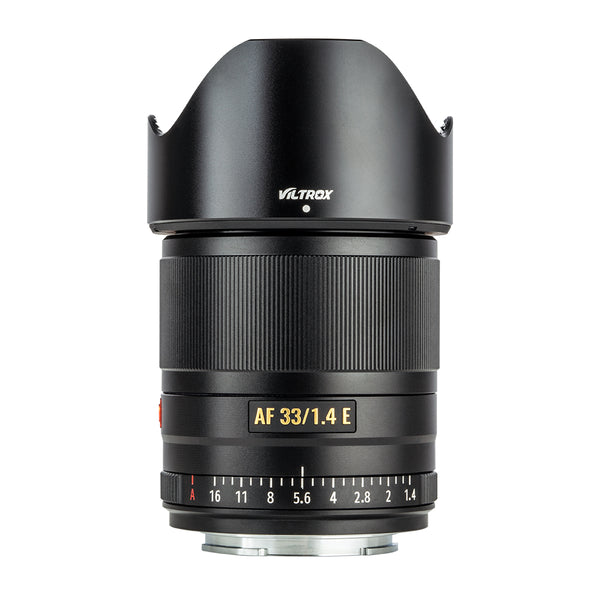 VILTROX 33mm F1.4 XF Auto Focus Fixed Focus Lens for Sony E-Mount Camera