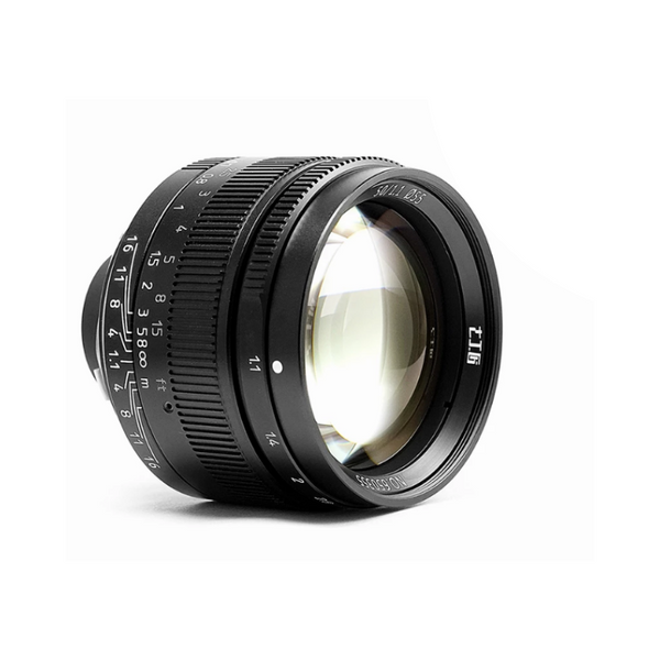 7artisans 50mm F1.1 Full Frame Large Aperture Fixed Lens for Leica Cameras