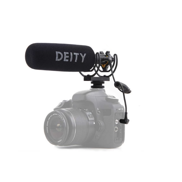 Deity V-Mic D3 Pro -- The World's Only Microphone with a Stepless Gain Knob
