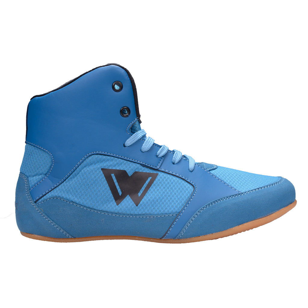 wrooker Kabaddi Wrestling Shoes for Men (Sky Blue)