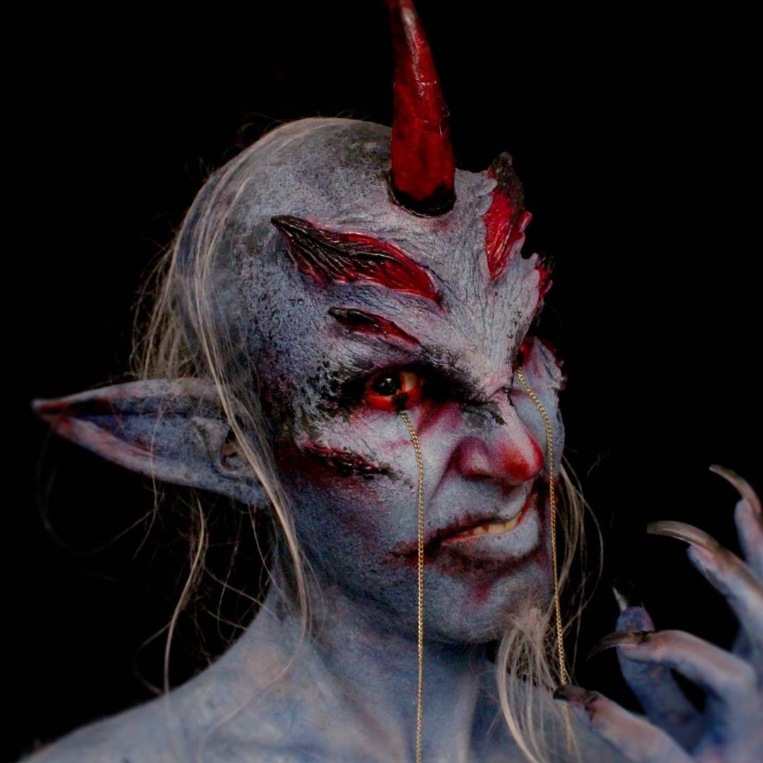Belphegor demon price of sloth makeup look
