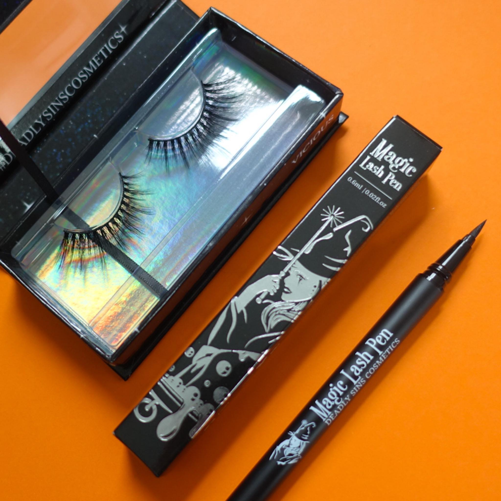 LUXE LASHES & MAGIC PEN BUNDLE - Makeup & vegan/cruelty free Cosmetics Products online | Melbourne | Deadly Sins Cosmetics