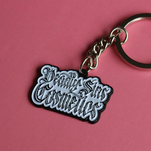 DEADLY SINS LOGO KEYCHAIN - Makeup & vegan/cruelty free Cosmetics Products online | Melbourne | Deadly Sins Cosmetics