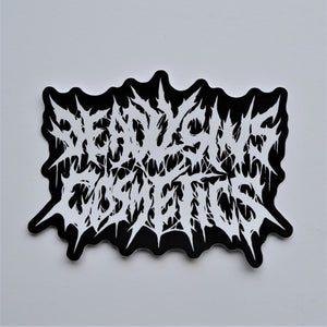 DEATH METAL STICKER - Makeup & vegan/cruelty free Cosmetics Products online | Melbourne | Deadly Sins Cosmetics