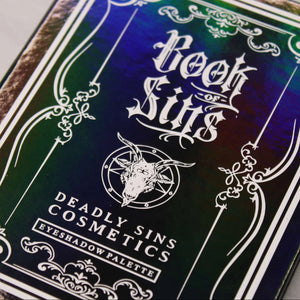 BOOK OF SINS - EYESHADOW PALETTE - Makeup & vegan/cruelty free Cosmetics Products online | Melbourne | Deadly Sins Cosmetics