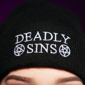 DEADLY SINS BEANIE - Makeup & vegan/cruelty free Cosmetics Products online | Melbourne | Deadly Sins Cosmetics