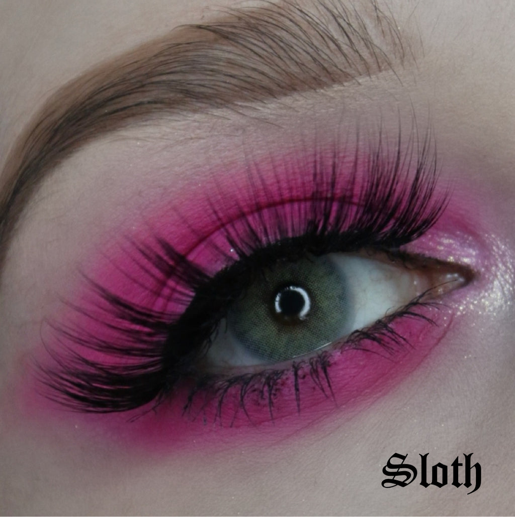 LUXE LASHES: SLOTH - Makeup & vegan/cruelty free Cosmetics Products online | Melbourne | Deadly Sins Cosmetics