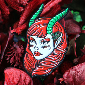 KRAMPUS PIN - Makeup & vegan/cruelty free Cosmetics Products online | Melbourne | Deadly Sins Cosmetics