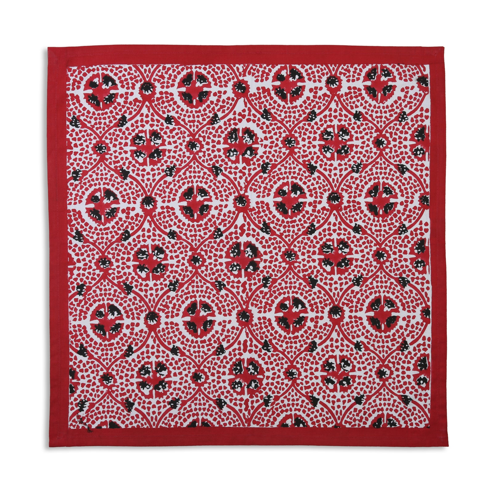 Red Tile Napkin