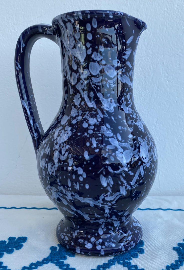 Ancient Milk Jug Splatter