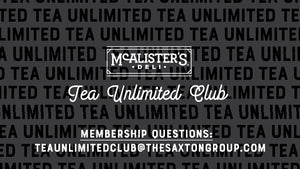 McAlister's Deli Tea Unlimited Club